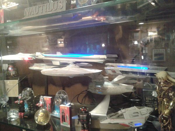 Although of course, the Star Trek stuff was hardly unexpected.