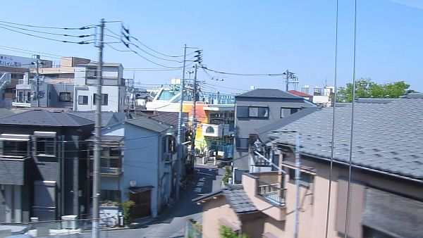 Chiba City. Turns out the sky really *is* the color of television tuned to a dead channel.