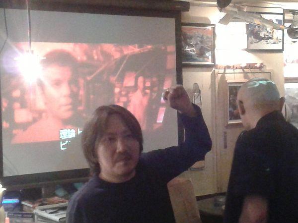 Tomoki Kodama, mytranslator/minder. Extra points for IDing the movie in the background.