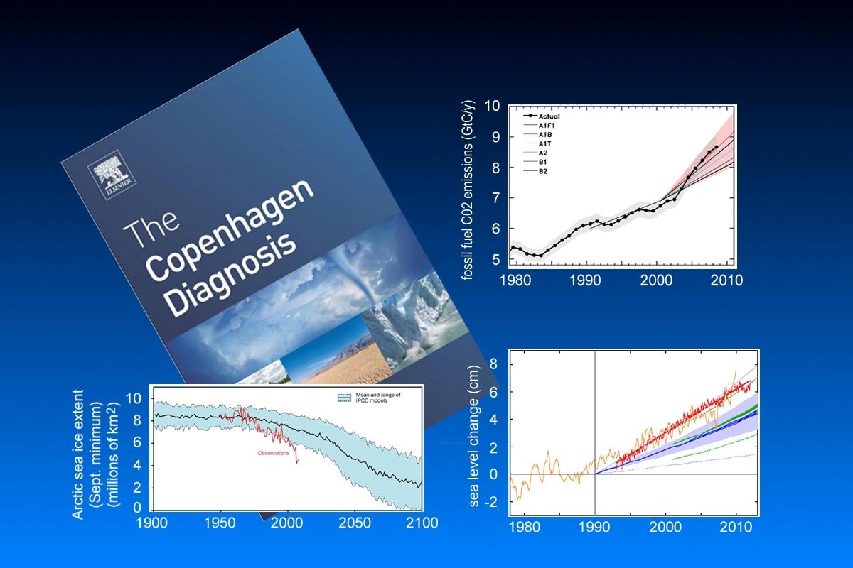By a couple dozen climate scientists.